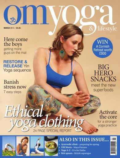 OM Yoga UK Magazine issue Mar-15