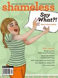 Shameless Magazine issue Spring 2011