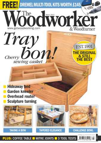 The Woodworker Magazine issue March 2015