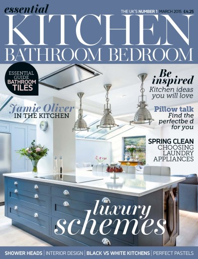 Title Cover Preview Essential Kitchen Bathroom Bedroom Preview. Essential Kitchen Bathroom Bedroom Magazine   March 2015