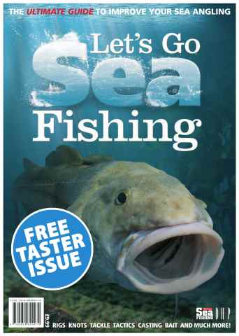 Total Sea Fishing issue Lets Go Sea Fishing - TASTER