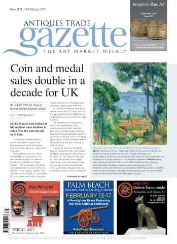 Antiques Trade Gazette issue ATG Issue 2178