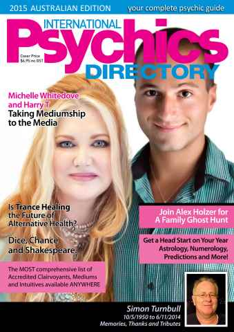 International Psychics Directory issue International Psychics Directory 2015