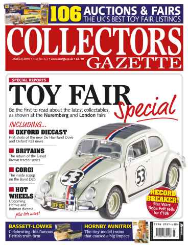 Collectors Gazette issue March 2015