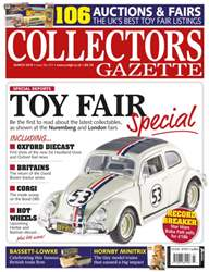 Collectors Gazette issue March 2015