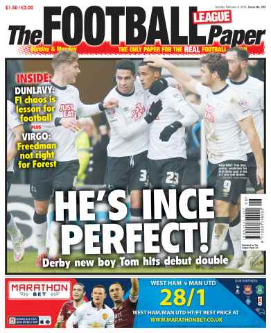 The Football League Paper issue 8th February 2015