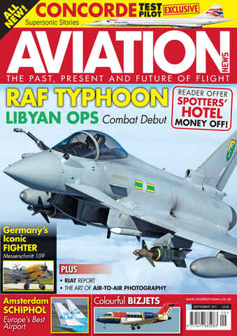 Aviation News issue September 2011