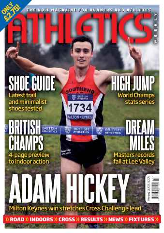 Athletics Weekly issue 12 February 2015