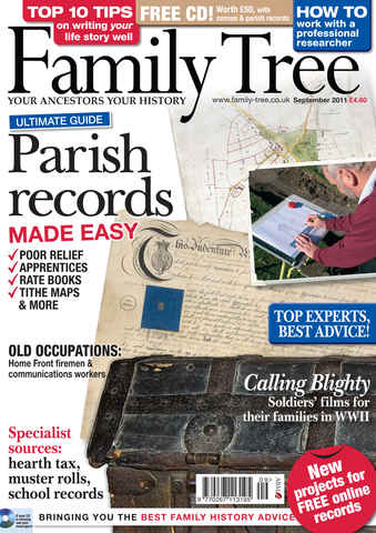 Family Tree issue September 2011