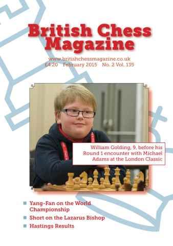 British Chess Magazine issue February 2015