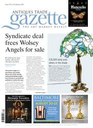 Antiques Trade Gazette issue ATG Issue 2179