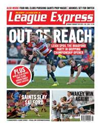 League Express issue 2954
