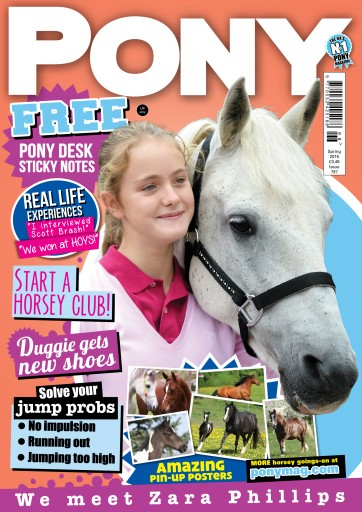 Pony Magazine issue PONY Magazine – Spring 2015