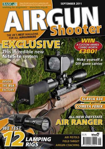 Airgun Shooter issue September 2011