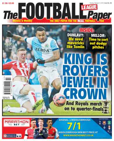 The Football League Paper issue 15th February 2015