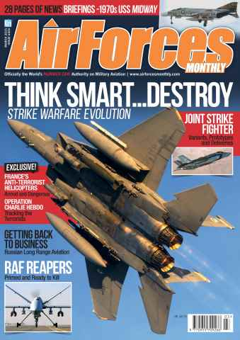 AirForces Monthly issue March