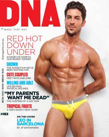 DNA Magazine issue # 182 - Red Hot