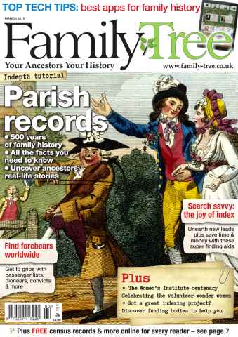 Family Tree issue Family Tree March 2015
