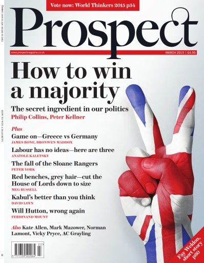 Prospect Magazine issue 228. March 2015