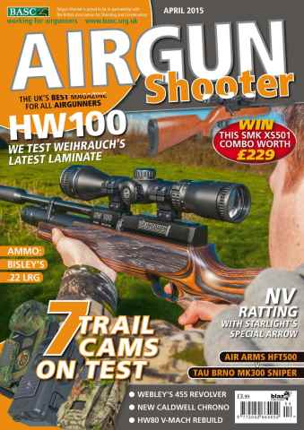 Airgun Shooter issue April 2015