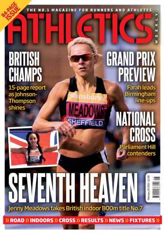 Athletics Weekly issue 19 February 2015