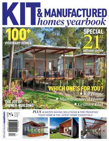 Kit Homes Yearbook issue Issue #21 2015