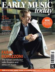 Early Music Today issue March - May 2015