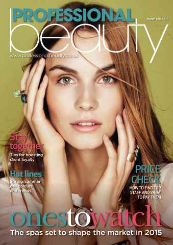 Professional Beauty issue Professional Beauty March 2015