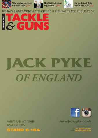 Tackle & Guns issue March 2015