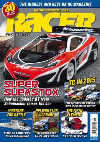 Radio Control Car Racer issue Apr 15