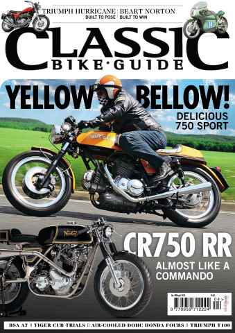 Classic Bike Guide issue April 2015