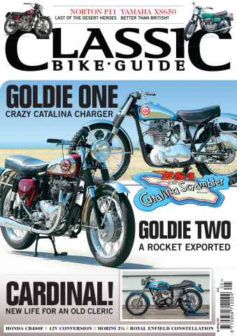 Classic Bike Guide issue May 2015