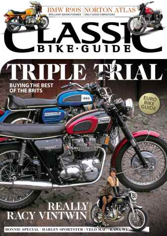 Classic Bike Guide issue September 2015