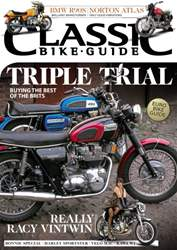 Classic Bike Guide issue September 2015