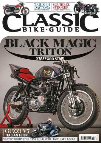 Classic Bike Guide issue November 2015