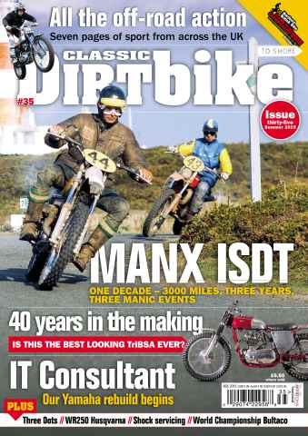 Classic Dirt Bike issue Issue #35
