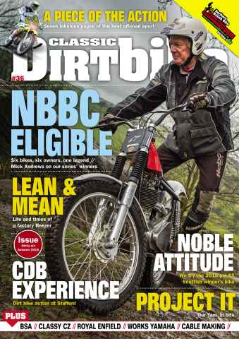 Classic Dirt Bike issue Issue #36 Autumn 2015