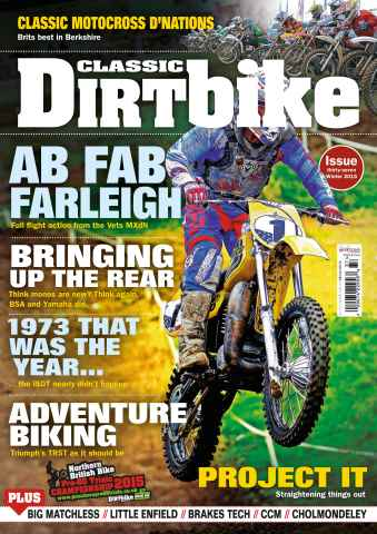 Classic Dirt Bike issue Issue #37