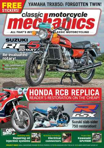 Classic Motorcycle Mechanics issue December 2015