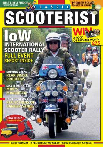 Classic Scooterist issue Oct - Nov 2015