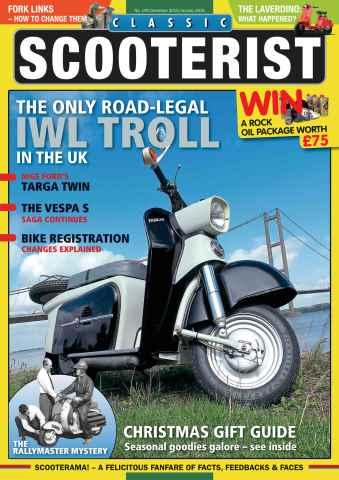 Classic Scooterist issue Dec - Jan 2015