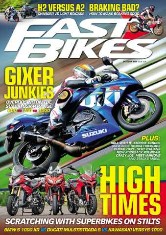 Fast Bikes issue 306 - October 2015