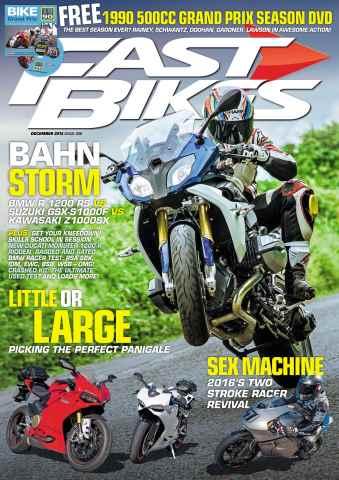 Fast Bikes issue 308 - December 2015