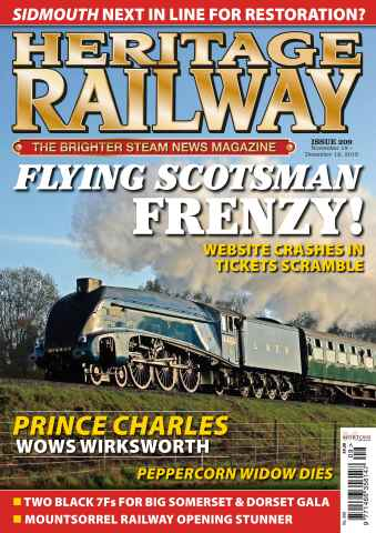 Heritage Railway issue HR209