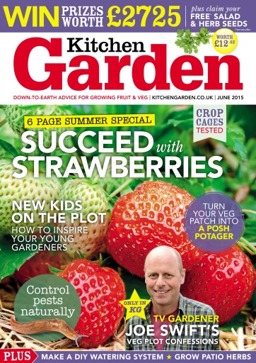 Kitchen Garden Magazine June 2015 Subscriptions Pocketmags