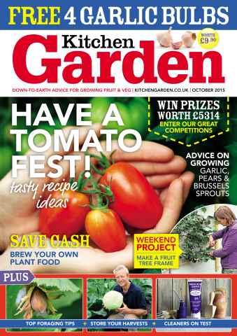 Kitchen Garden Magazine issue October 2015