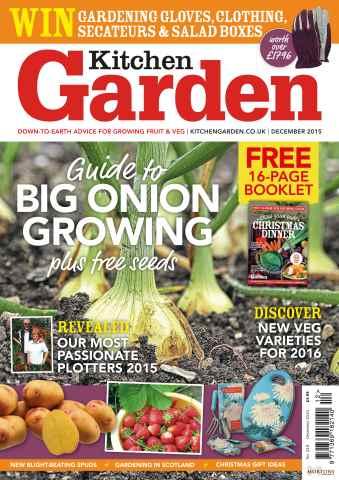 Kitchen Garden Magazine issue December 2015