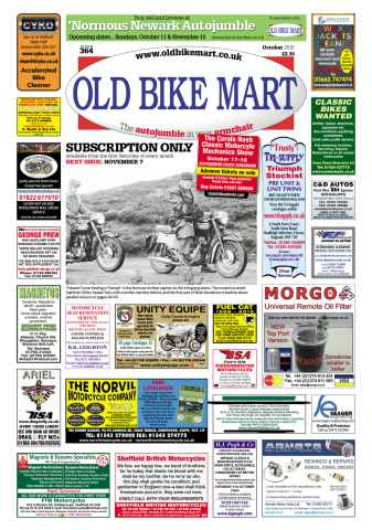 Old Bike Mart issue October 2015