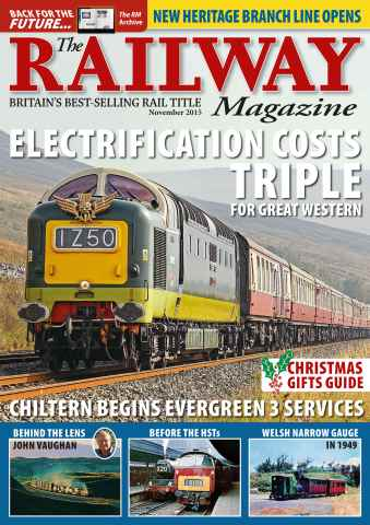 Railway Magazine issue November 2015