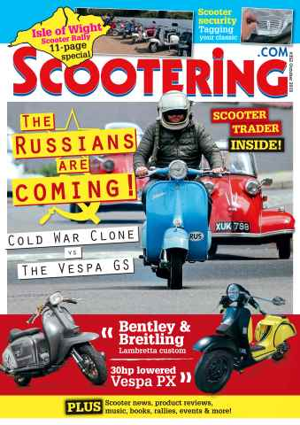 Scootering issue October 2015
